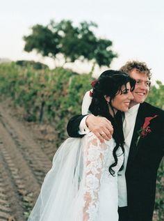 Rick Allen and his wife, Lauren.