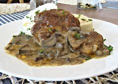 Krkovicka z trouby a houbova omacka Beef, Food, Meat, Essen, Meals, Yemek, Eten, Steak