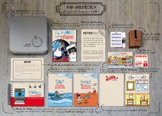 Este es el contenido completo de una Baby MyRetrobox. Baby My Retrobox es una cápsula del tiempo personalizada que hoy se regala a un bebé, pero que él no descubrirá hasta dentro de mucho tiempo. Es una caja de recuerdos que contiene información y curiosidad sobre cómo es el mundo al que ha llegado el bebé, y anécdotas e imágenes de sus primeros meses de vida. ¡El regalo más original y emotivo para un bebé! ;) #capsula #tiempo #MyRetrobox #regalo #bebe