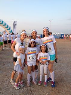 5 Tips For Running The Color Run With Kids