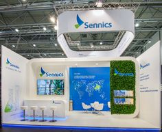 Sennics | Eldee Exhibition Booth, Exhibition Stands, Booth Design, Trade Fair, Innovation, Layout, Museums, Inspiration, 3d