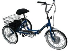 Dropped on Dec Worksman Adult Port-o-Trike Lightning Electric Tricycle Lightning Electric, Velo Cargo, Adult Tricycle, Electric Tricycle, Mobility Aids, Vehicles, Sports, Outdoors, Amazon