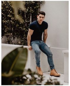 Trendy Mens Fashion, Stylish Mens Outfits, Chic Outfits, Fashion Outfits, Urban Fashion, Fashion Shoes, Classic Mens Fashion, Mens Boots Fashion, Beach Outfits