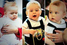 Prince George is so cute
