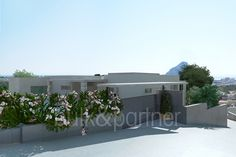 Modern luxury villa with sea views and tennis court for sale in Calpe - ID 5500536 - Real estate is our passion... www.bulk-partner.com