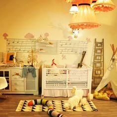 Chambre bébé fun color art ferm living brita Sweden by potiron kid store Casablanca