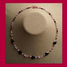Black and White Diamonds Necklace  $10