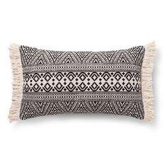 Black Global Oversized Oblong Throw Pillow - Threshold™