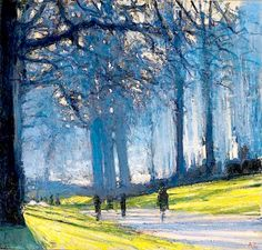 Andrew Gifford(GBR) アンドリュー・ギフォード(英). After school painting then scouts for me.