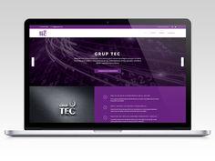 Diseño web para Grup Tec.