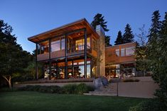 Lake House Two - Exterior - modern - exterior - seattle - McClellan Architects
