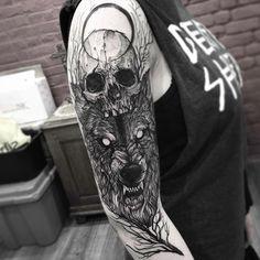 Tattoo art by Fredao Oliveira, Brasil