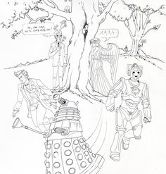 Doctor who coloring pages - Coloring Pages & Pictures - IMAGIXS