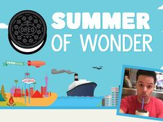 Enter the OREO Summer of Wonder Sweepstakes for a chance to win a trip for two to either the Grand Canyon, New York City Landmarks, a Rocky Mountain Ski Trip, a California Redwood trip, an Iconic Food Festival, a Cruise to Alaska, or a trip to Las Vegas!