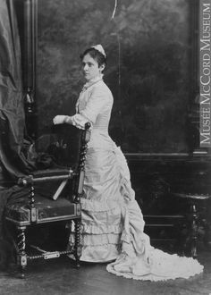 Miss Jessie Stroud, Montreal, QC, 1880, Silver salts on paper mounted on paper - Albumen process II-55391.1 © McCord Museum