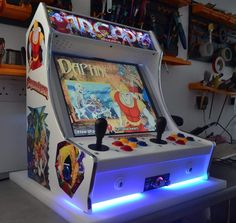 TinyArcade 14in1 Arcade Machine Ultimate. Bartop arcade machine that emulates 14 gaming systems, from classic arcade machines with MAME up to Nintendo 64 and PSX. £950