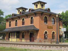 Illinois Central Railroad Depot