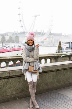 Winter is upon us and we will be needing all the layers we can find! Sharing a layered look I wore a few weeks ago in London today on S&T!