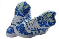 online store 4eb1e 3ccfe Adidas X Jeremy Scott Metro Attitude Hi Skeleton Royal Blue White G44335