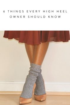 6 Things Every High-Heel Owner Should Know via @PureWow via @PureWow