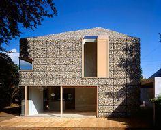 O que é gabião? Inspire-se com 12 projetos de arquitetura e construção | bim.bon