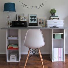 ヨコでもタテでも使えるマルチな収納アイテム、カラーボックス。これを、収納も兼ねながら、他の家具に変身させるアイディアがありました。今日は、カラーボックスでオリジナルの「机」を自作してみましょう!コーディネートのバラエティも一緒にご紹介します♡ それでは、日曜大工、始め〜♪