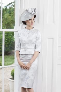 John Charles 2013 Mother of the Bride Collection Mother Of Bride Outfits, Mothers Dresses, Mother Of The Bride, Bride Dresses, Woman Dresses, John Charles, Cocktail Outfit, Best Mother, Silver Dress