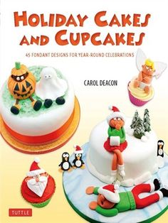 Cover of Holiday Cakes and Cupcakes