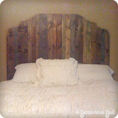 Hausgemachte Kopfbretter, Selbstgemachte Kopfteile, Altholz Kopfteil, Ideen  Kopfteil, Maßgearbeitete Kopfende, Diy Holz, Hauptschlafzimmer,  Schlafzimmerdeko ...
