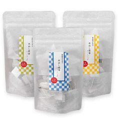 透明 和紙袋 スタンディングパウチ【ラベルテンプレート】