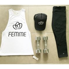 Active basics featuring our Femme Muscle Tee, Femme Body Trucker Cap and Elegance 7/8 Tights - jump online and shop the latest active style!  www.femmebody.com.au  #activewear #sports #fitness #workout #exercise #healthy #fit #summer #energise #women #femmebodyactive #energiseyourconfidence