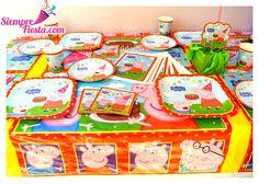 Bonitos artículos para tu próxima fiesta de Peppa Pig. Consigue todo para tu fiesta en nuestra tienda en línea entrando aquí: http://www.siemprefiesta.com/fiestas-infantiles/ninas/articulos-de-peppa-pig.html?limit=all&utm_source=Pinterest&utm_medium=Pin&utm_campaign=Peppa