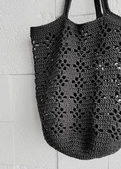 Crochet Market Bag, Crochet Tote, Crochet Handbags, Crochet Purses, Crochet Granny, Crochet Crafts, Crochet Projects, Knit Crochet, Crotchet Bags