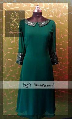 ideas sewing patterns dresses prom evening gowns for 2019 Salwar Neck Designs, Kurta Neck Design, Kurta Designs Women, Dress Neck Designs, Designs For Dresses, Indian Designer Outfits, Designer Dresses, Churidhar Designs, Simple Kurti Designs