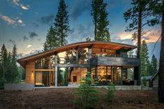 Super Ideas For House Design Exterior Modern Window Design Exterior, Exterior Siding, Exterior House Colors, Modern Exterior, Exterior Windows, Roof Design, Patio Design, Country Modern Home, Modern Barn