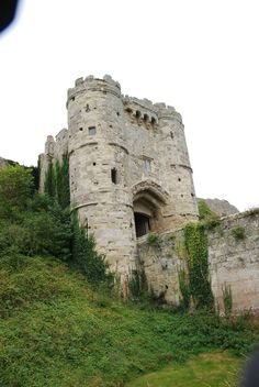 Carisbrooke Castle, Isle of Wright, England