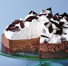 no-bake+chocolate+mousse+pie