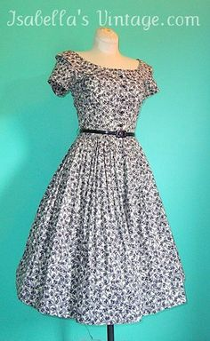 1960's Jerry Gilden Vintage Dress