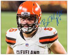 f3389dd7c BAKER MAYFIELD 8x10 Photo CLEVELAND BROWNS Quarterback NFL Football  Autograph RP Cleveland Browns Quarterback, Nfl