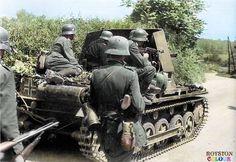 Panzerjäger I 4.7cm PaK(t) (Sf) auf Panzerkampfwagen I Ausf B tank destroyer.