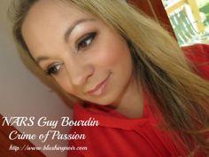 @NARSissist NARS Crime of Passion Eye, Cheek & Lip Palette Swatches, Review & FOTD – Guy Bourdin Holiday 2013 #guybourdin #nars #bbloggers #holiday #fotd #swatches #crimeofpassion #palette