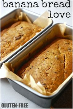 Banana Bread so good you don't need to call it gluten-free - Best Ever Gluten-Free Sugar-Free Banana Bread Sugar Free Desserts, Gluten Free Desserts, Healthy Desserts, Vegan Gluten Free, Gluten Free Recipes, Baking Recipes, Baking Dishes, Dairy Free, Coconut Flour Cakes