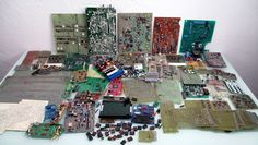13.6 Lbs Electronic Scrap - Gold Recovery Precious Metals Circuit Boards