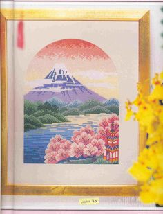 Gallery.ru / Фото #1 - Фудзияма в лучах восходящего солнца - DELERJE