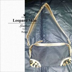 Leopard #Clutch Leather