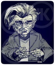 Emil Cioran by on DeviantArt Emil Cioran, Jean Paul Sartre, Karl Marx, Charles Darwin, Friedrich Nietzsche, Philosophy, Literature, Illustration Art, Novels