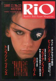 1985 Dead or Alive Pete Burns Japan Rio Magazine Promo Ad Mini Poster Advert D11   eBay