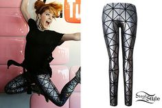 Lindsey Stirling: Holographic Print Leggings                                                                                                                                                                                 More