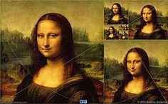 Leonardo da Vinci: 'Mona Lisa'' and Golden Rectangle, Golden Spiral