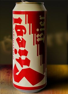 Stiegl Beer can